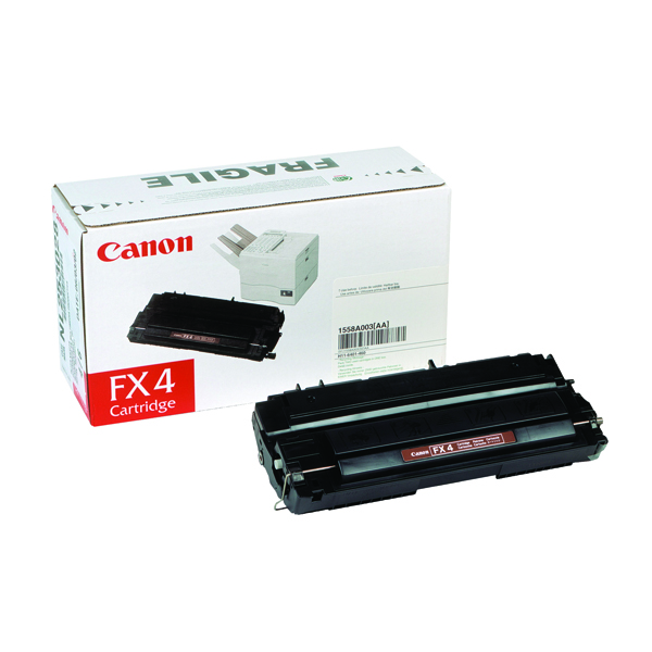 Image for Canon FX4 Black Toner Cartridge 1558A003