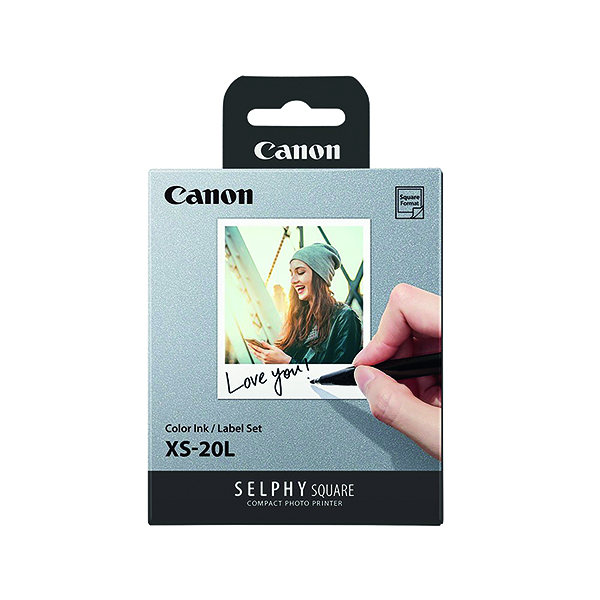 Canon Selphy Square XS-20L 68x68mm (Pack of 20) 4119C002AA