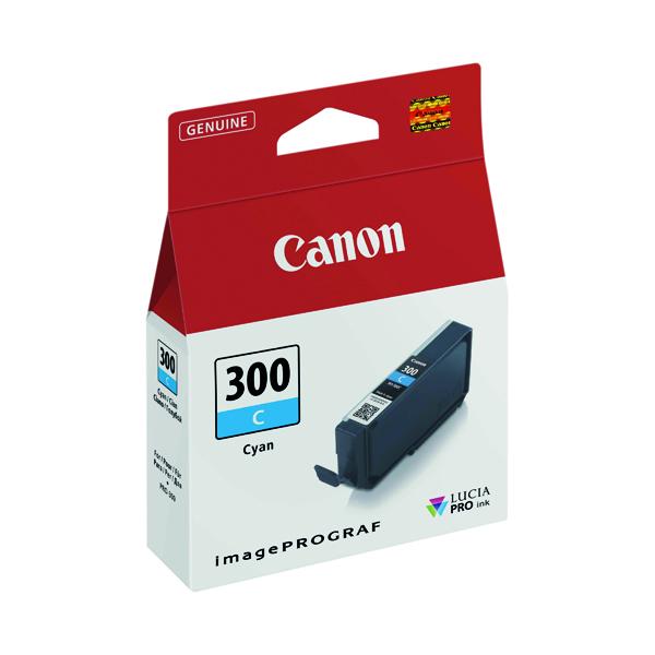 Canon PFI-300 Pro Series Cyan Ink Tank 4194C001