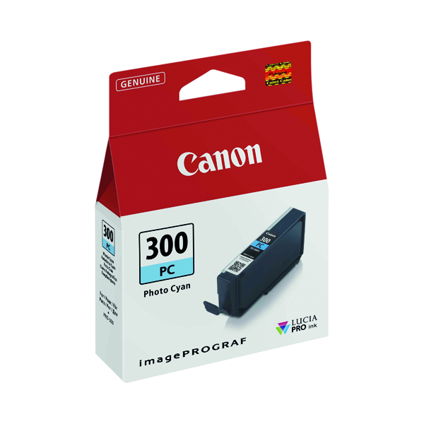 Canon PFI-300 Pro Series Photo Cyan Ink Tank 4197C001