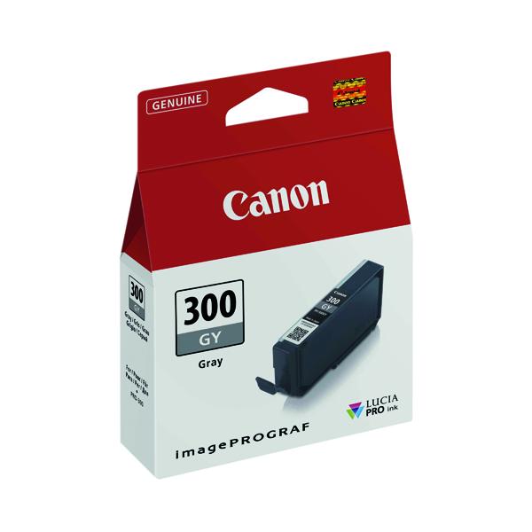 Canon PFI-300 Pro Series Grey Ink Tank 4200C001