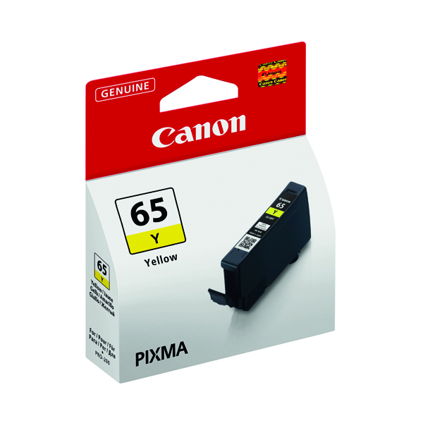 Canon CLI-65 Yellow Ink Tank 4218C001