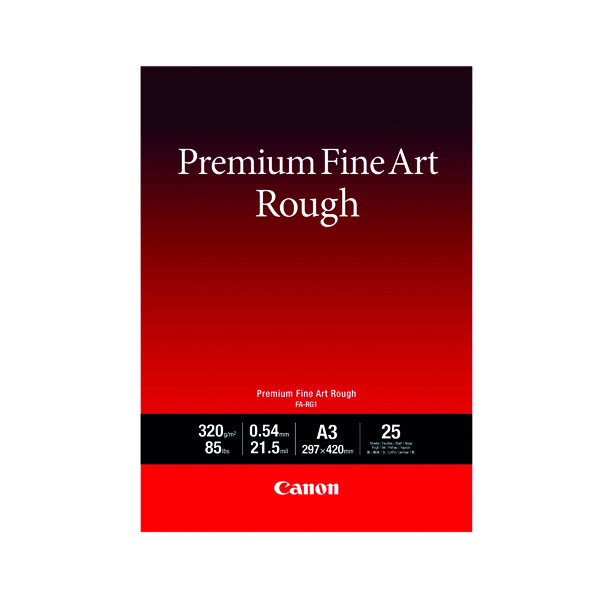 Canon FA-RG1 A3 Photo Paper Premium FineArt Rough (Pack of 25) 4562C003