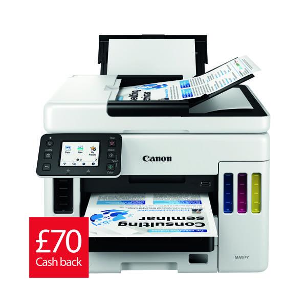 Canon Maxify GX7050 4In1 Refillable Ink Tank Inkjet Printer 4471C008AA