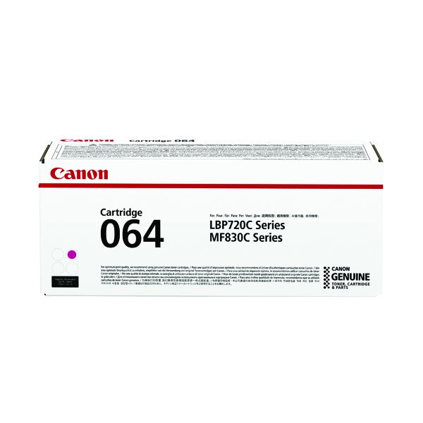 Canon Cartridge 064 Magenta Laser Toner Cartridge 4933C001