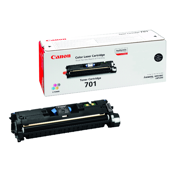Canon Laser Shot LBP-5200 Black High Yield Toner Cart 701BK 9287A003