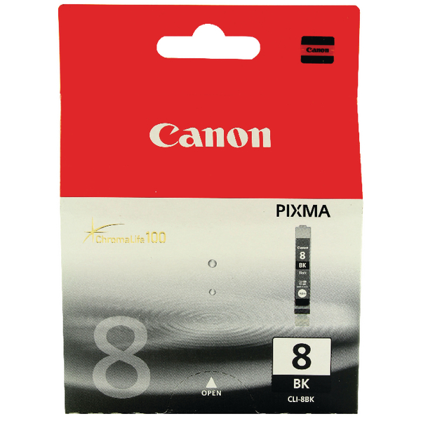 Canon CLI-8BK Black Inkjet Cartridge 0620B001