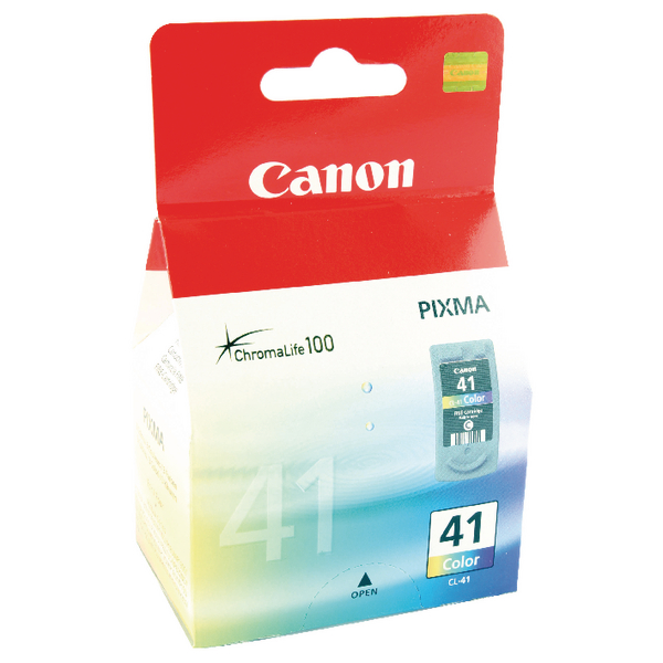 Canon CL-41 CMY Colour Ink Cartridge 0617B001