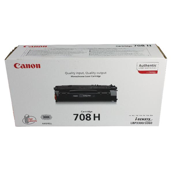 Canon 708H Black High Capacity Toner Cartridge 0917B002