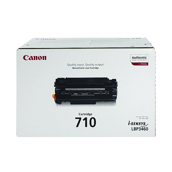 Canon 710 Black Toner Cartridge 0985B001AA