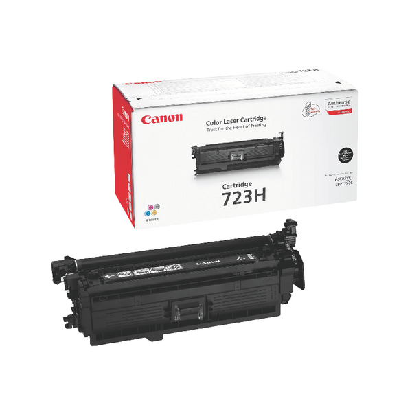 Canon 723H Black High Yield Toner Cartridge 2645B002
