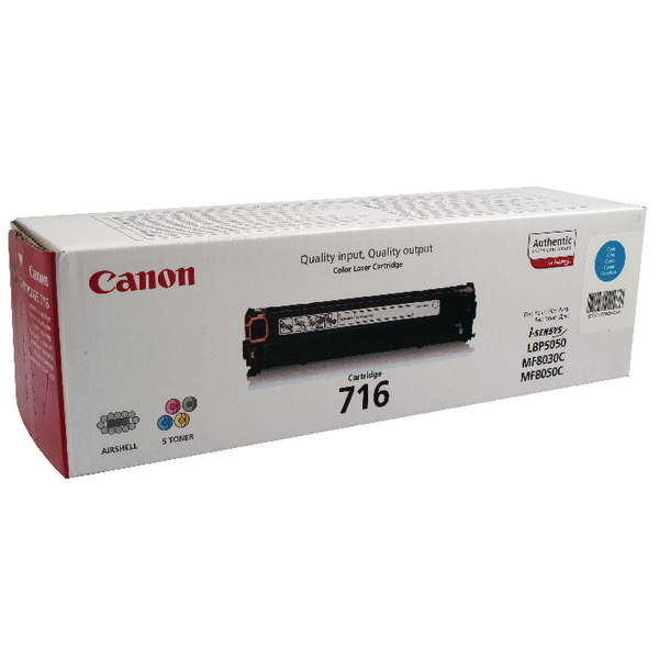 Canon 716C Cyan Toner Cartridge 1979B002