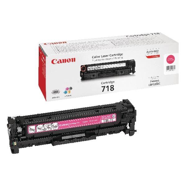 Canon 718M Magenta Toner Cartridge 2660B002