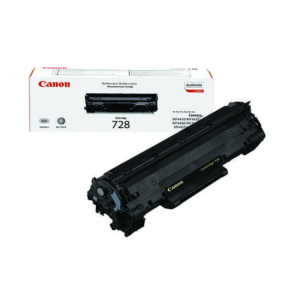 Canon 728 Standard Capacity Black Toner Cartridges 3481B002AA