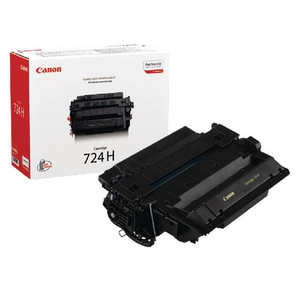 Canon 724H Black Toner Cartridge 3484B002AA