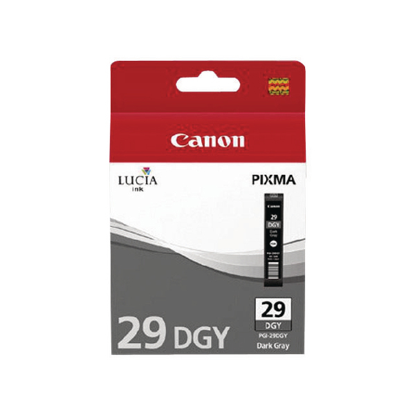 Canon PGI-29 Dark Grey Ink Tank 4870B001