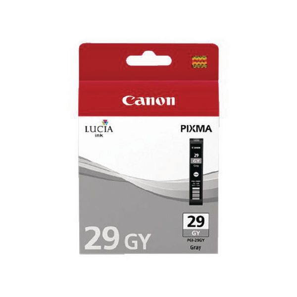 Canon PGI-29 Grey Ink Tank 4871B001
