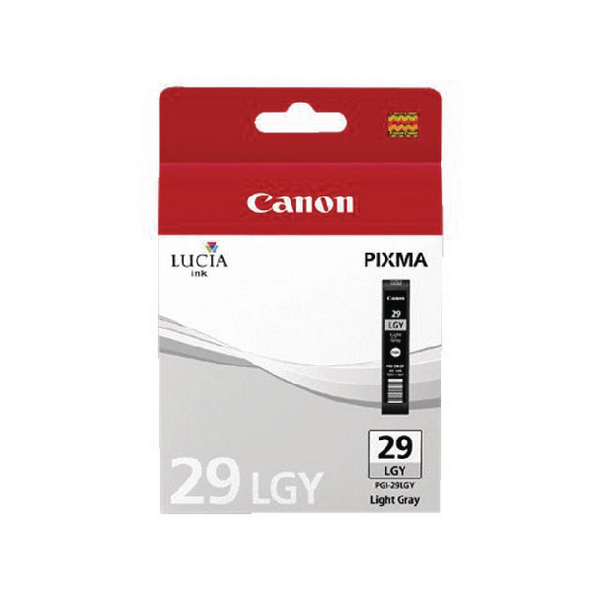 Canon PGI-29 Light Grey Ink Tank 4872B001
