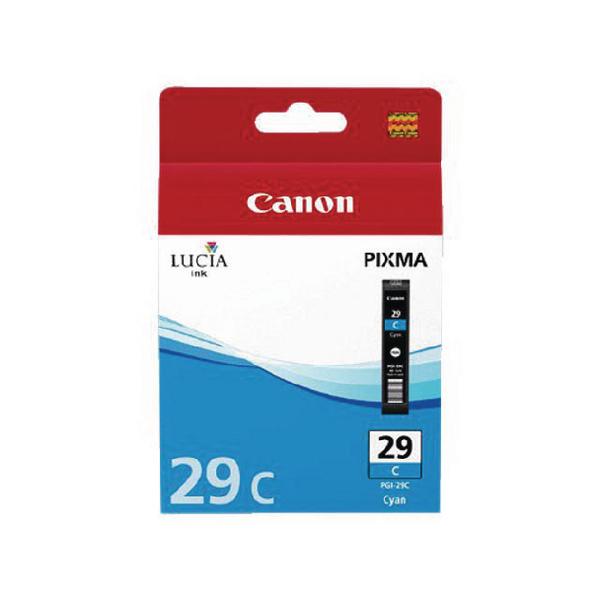 Canon PGI-29 Cyan Ink Cartridge 4873B001