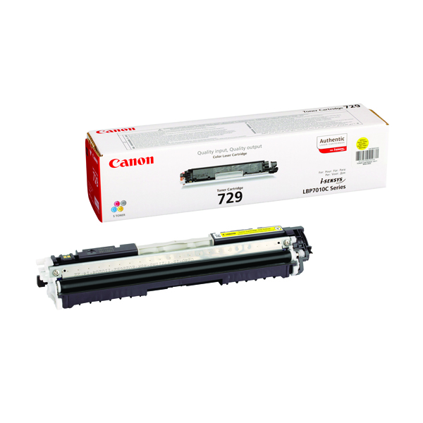 Canon 729 Yellow Toner Cartridge 4367B002AA
