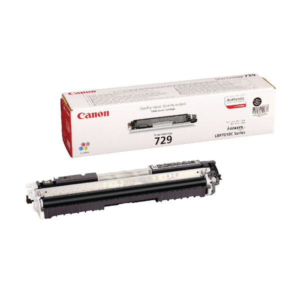 Canon 729 Black Toner Cartridge 4370B002AA