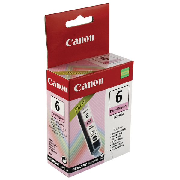 Canon BCI-6PM Magenta Ink Cartridge 4710A002