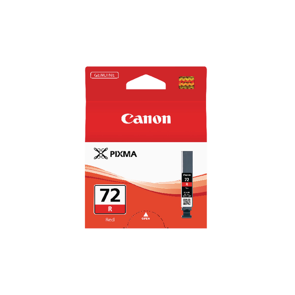 Canon PGI-72R Red Inkjet Cartridge 6410B001