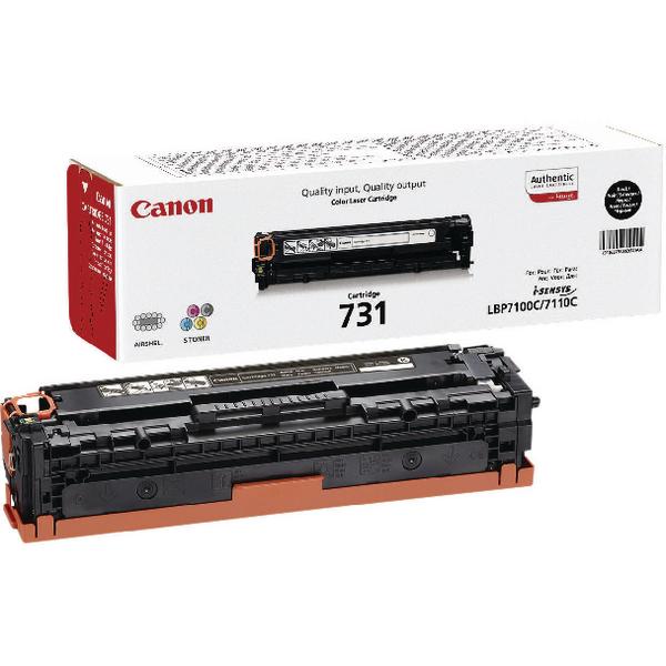 Canon 731H Black High Yield Toner Cartridge 6273B002
