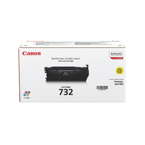 Canon 732Y Yellow Toner Cartridge 6260B002