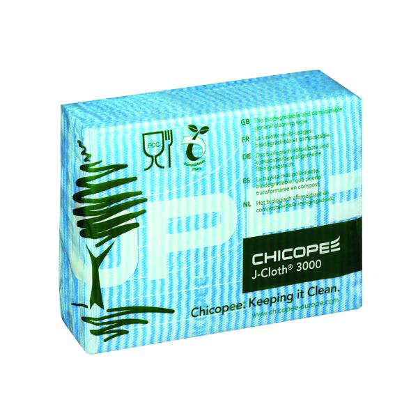 Lightweight J-Cloth 430x320mm Blue (Pack of 50) 0707117