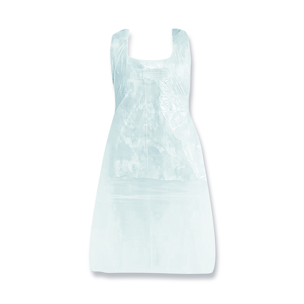 White Aprons Flat (Pack of 100) ECBW46F/PO9937