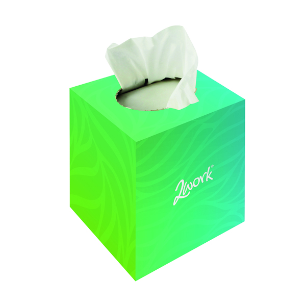 Maxima Facial Tissues Cube 2 Ply 70 Sheets White Ref 1103003 [Pack 24]