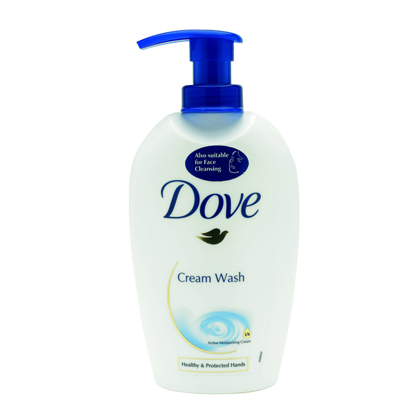 Dove Cream Soap with Pump Dispenser 250ml KMSDOVE1