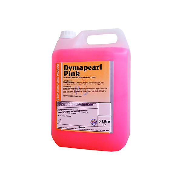 Dymapearl Hand Soap Pink 5 Litre 0604244