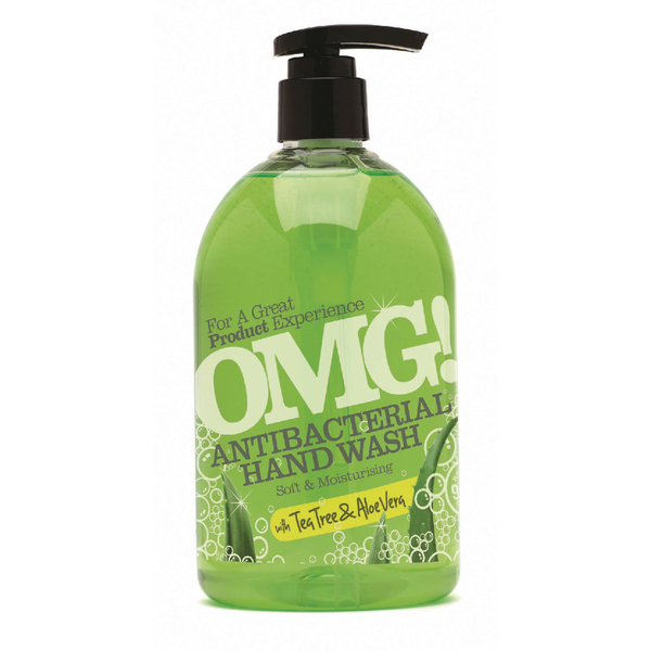 OMG Antibacterial Aloe Vera Hand Wash 500ml 0604399