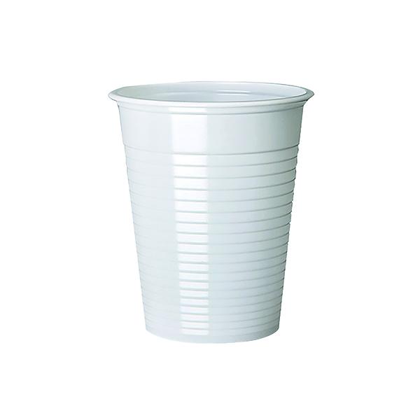 MyCafe Plastic Cups White 7oz (Pack of 1000) DVPPWHCU01000V