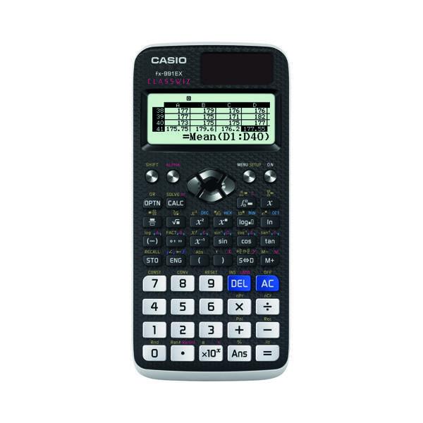 Casio Graphic Calculator (552 Functions, 47 Scientific Constants) FX-991EX