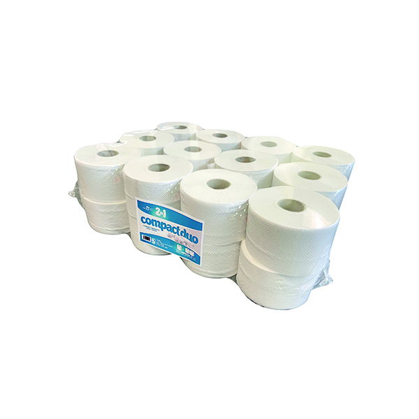 ESP 2Ply Micro Jumbo Toilet Roll 80m (Pack of 24) JWH201