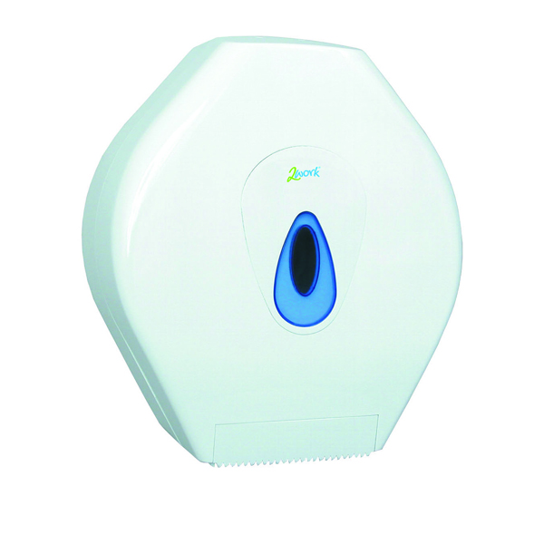 2Work Mini Jumbo Toilet Roll Dispenser