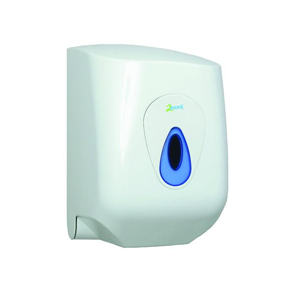 Image for 2Work Mini Centrefeed Hand Towel Dispenser DS9220