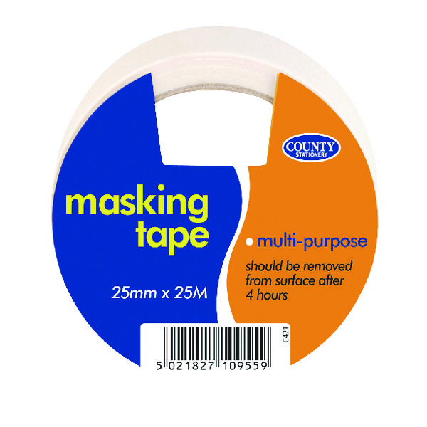 County Masking Tape (Pack of 12) C421