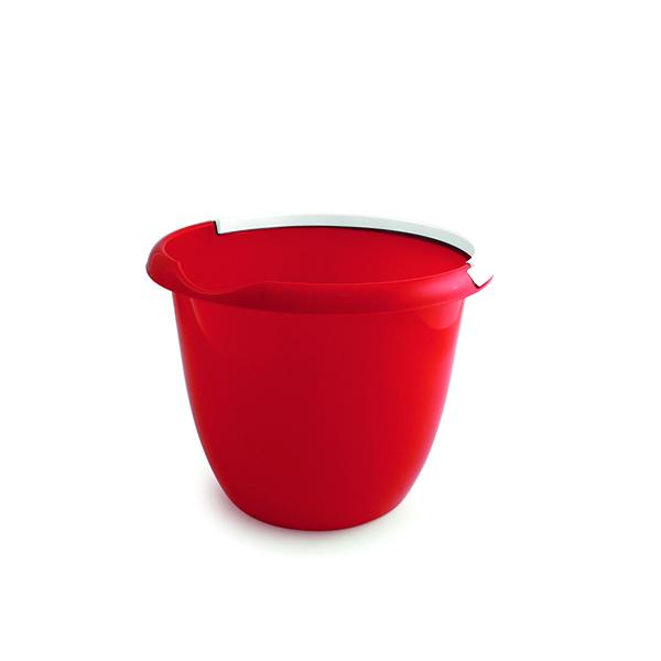 Plastic 10 Litre Bucket Red BUCKET.10R