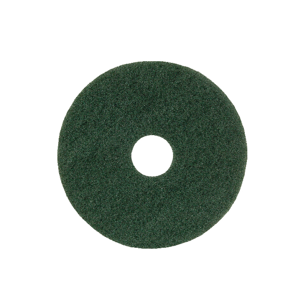 Image for 15in Standard Speed Floor Pad Green (Pack of 5) 102603