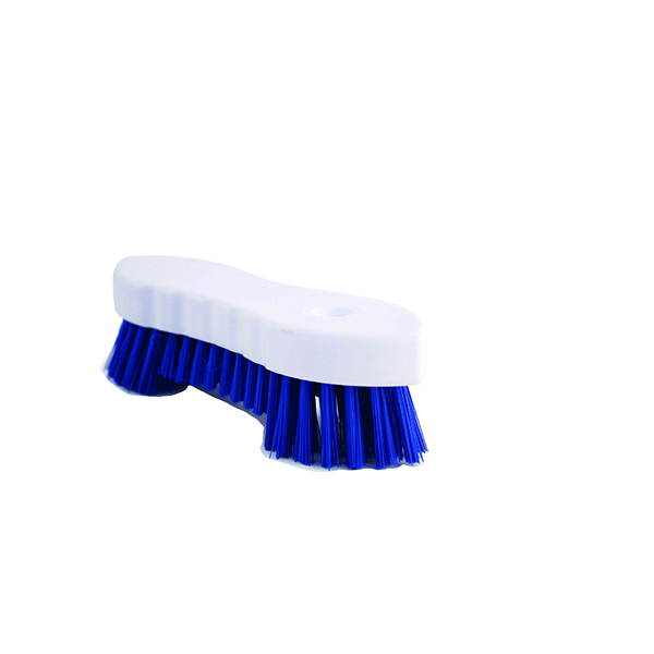 Hand Held Scrubbing Brush Blue VOW/20164B