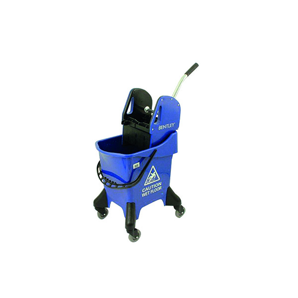 Hygineer Ergonomic Heavy Duty Mop Bucket Blue 31 Litre HRMB31/B
