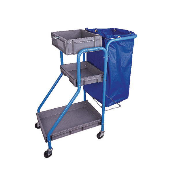 Image for Port-A-Cart 100 Litre Cleaning Trolley (Heavy duty vinyl bag construction) MWPCTO01L