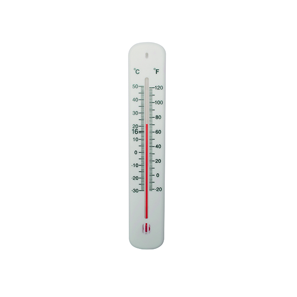 Image for Office Thermometer H200xW45mm White CY61761