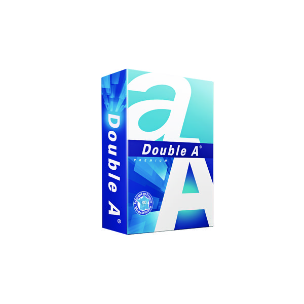 Double A Premium Copier Paper A5 80gsm Ream Bright White DA80A5
