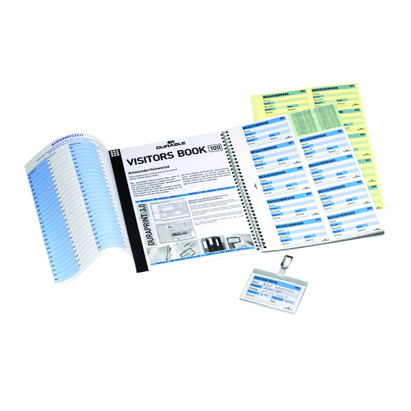 Image for Durable Visitors Book Refill (Pack of 100) 1464/00