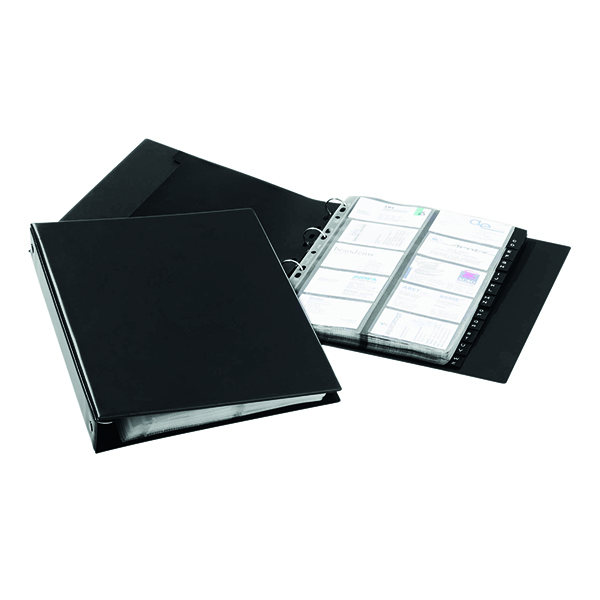 Image for Durable Visifix Economy Business Card Album A4 2444/01